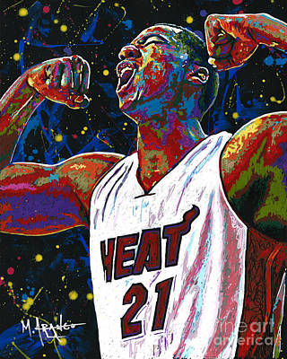 The Whiteside Flex Poster by Maria Arango