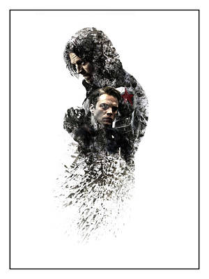 The Winter Soldier Poster by Dakota Randall