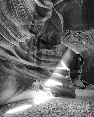 The Wizard Antelope Canyon Navajo Nation Page Arizona Poster by Silvio Ligutti