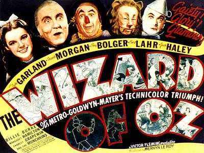 The Wizard Of Oz, Judy Garland, Frank Poster by Everett