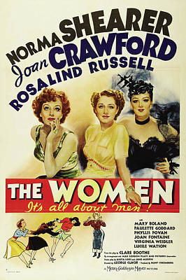 The Women - It's All About Men 1939 Poster