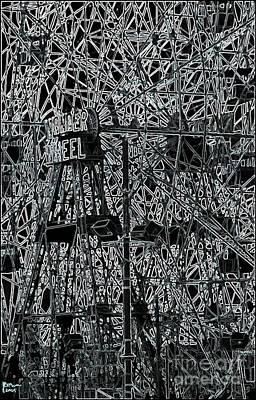 The Wonder Wheel Poster by Jeff Breiman