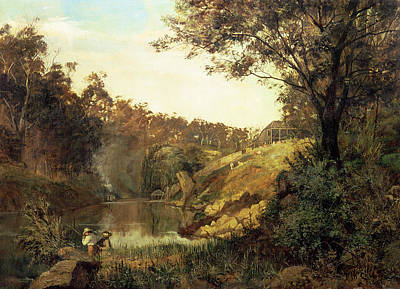 The Yarra, Studley Park Poster