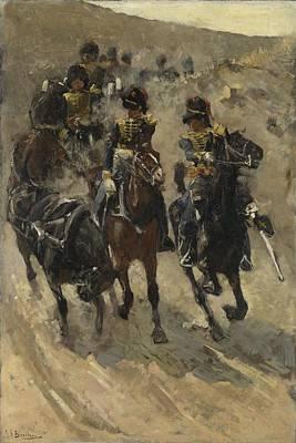 The Yellow Riders, George Hendrik Breitner, 1885 - 1886 Poster