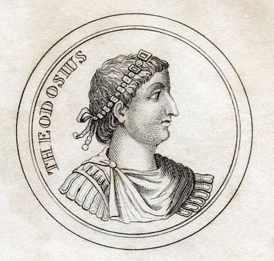 Theodosius The Great Flavius Theodosius Poster