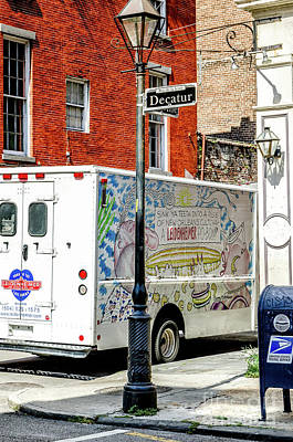 There Goes That Leidenheimer Truck Again- Nola Poster by Kathleen K Parker