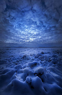 There's No Point Escaping Poster by Phil Koch