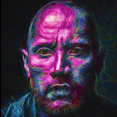 @therock #dwaynejohnson #nfl #disney Poster by David Haskett
