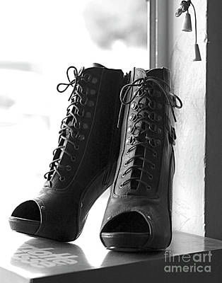 These Boots Poster by Telitha Johnson