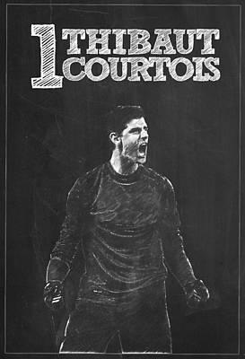 Thibaut Courtois Poster