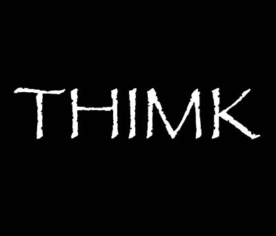 Thimk Poster by WDM Gallery