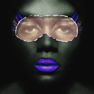 Thin Skinned Purple Poster