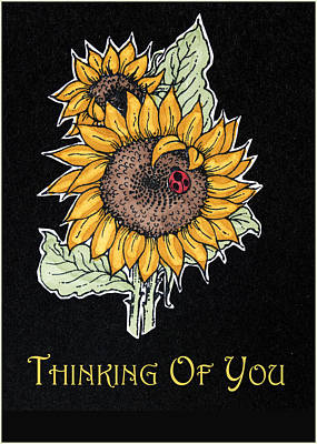 Thinking Of You Poster by Jon Berghoff
