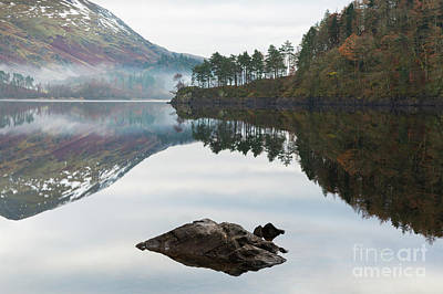 Thirlmere Hourglass Poster by Tony Higginson