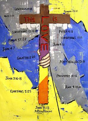 This Is Love Poster by Anthony Falbo