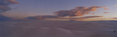 This Is Sunset Over White Sands Poster by Panoramic Images