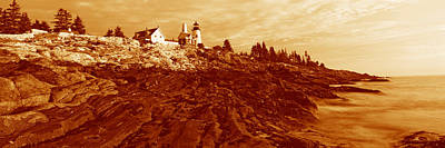 This Is The Pemaquid Point Lighthouse Poster by Panoramic Images