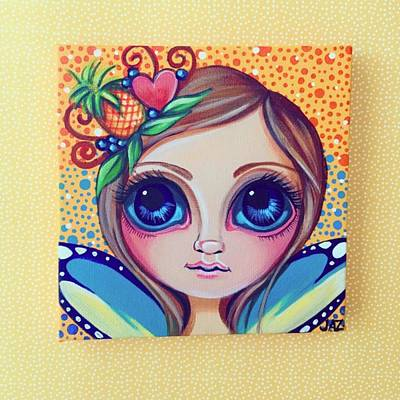 This Little Faery Cutie Today Flew Into Poster by Jaz Higgins