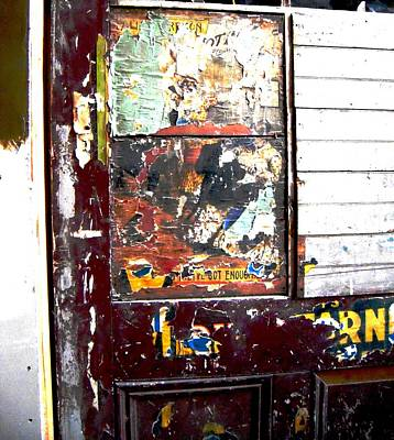 This Old Door Has Got Enough Poster by Don Struke