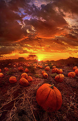 This Our Town Of Halloween Poster by Phil Koch