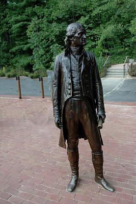 Thomas Jefferson At Monticello Poster