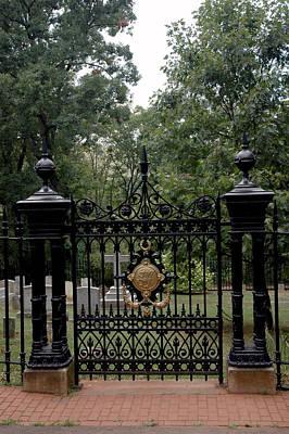 Thomas Jefferson Grave Site Monticello Poster