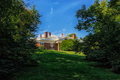 Thomas Jefferson Home - Monticello - 3 Poster by Frank J Benz