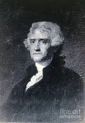 Thomas Jefferson Poster by Richard W Linford