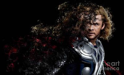 Thor - Chris Hemsworth Poster