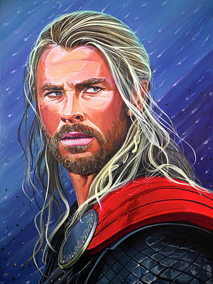 Thor, God Of Thunder Poster