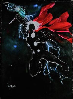 Thor - God Of Thunder Poster