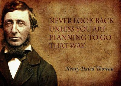 Thoreau Quote 2 Poster