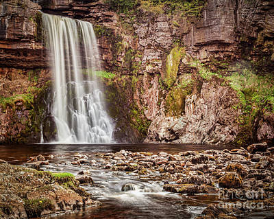 Poster featuring the photograph Thornton Force, Yorkshire Dales by Colin and Linda McKie