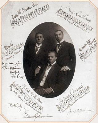 Those Ebony Offenbachs, Johnson Poster