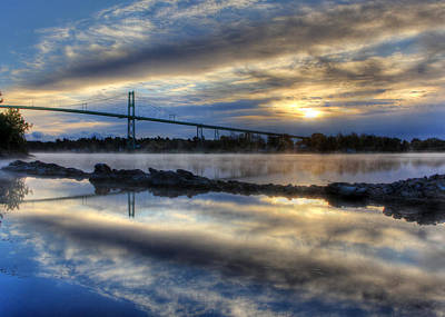Thousand Islands Bridge Poster