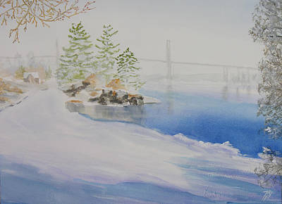 Thousand Islands Bridge Poster by Robert P Hedden