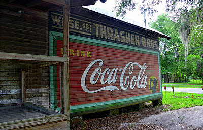 Thrasher Store Coke Sign Poster by David Lee Thompson