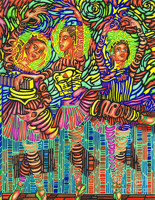 Three Ballerinas Poster