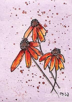 Three Little Flowers Poster