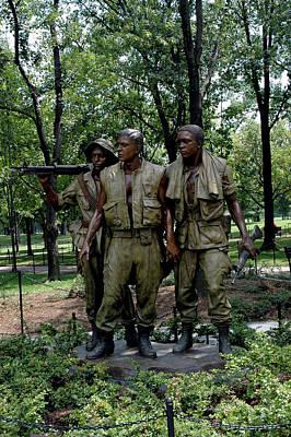 Three Servicemen Poster