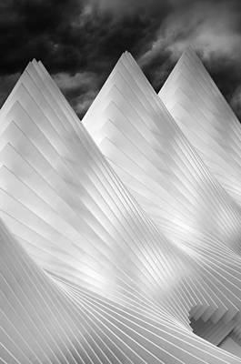 Three Summits Poster by Michiel Hageman