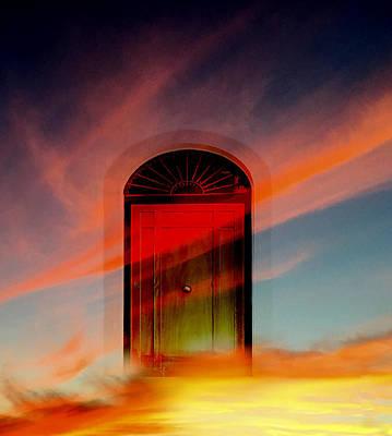 Through The Door Poster