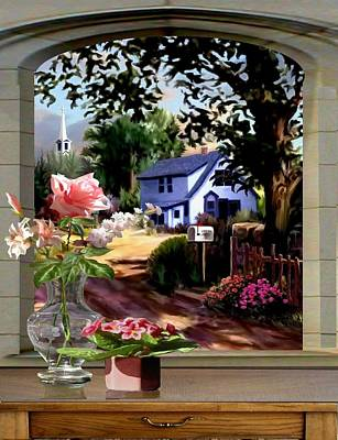 Through The Window Poster by Ron Chambers