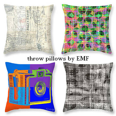 Throw Pillows By Edward M. Fielding Poster