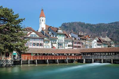 Thun - Switzerland Poster by Joana Kruse