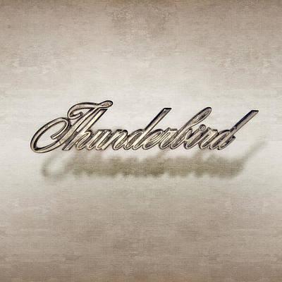 Thunderbird Badge Poster