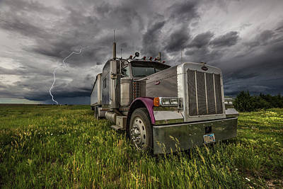 Poster featuring the photograph Thunderstruck by Aaron J Groen