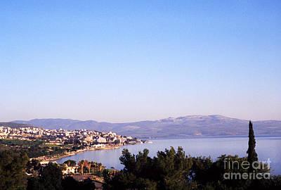 Tiberias Sea Of Galilee Israel Poster by Thomas R Fletcher