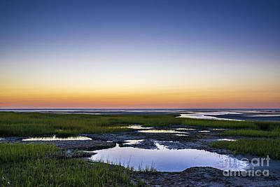 Tidal Pool Sunset Poster