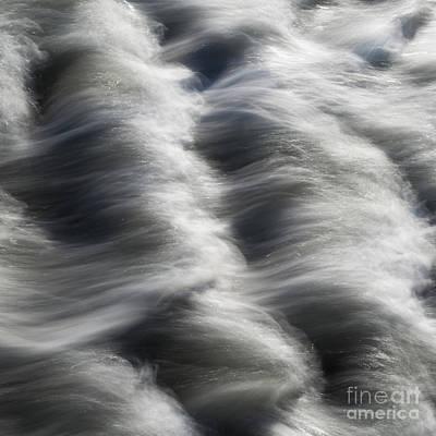 Tide Over Rocks Poster by Tony Higginson